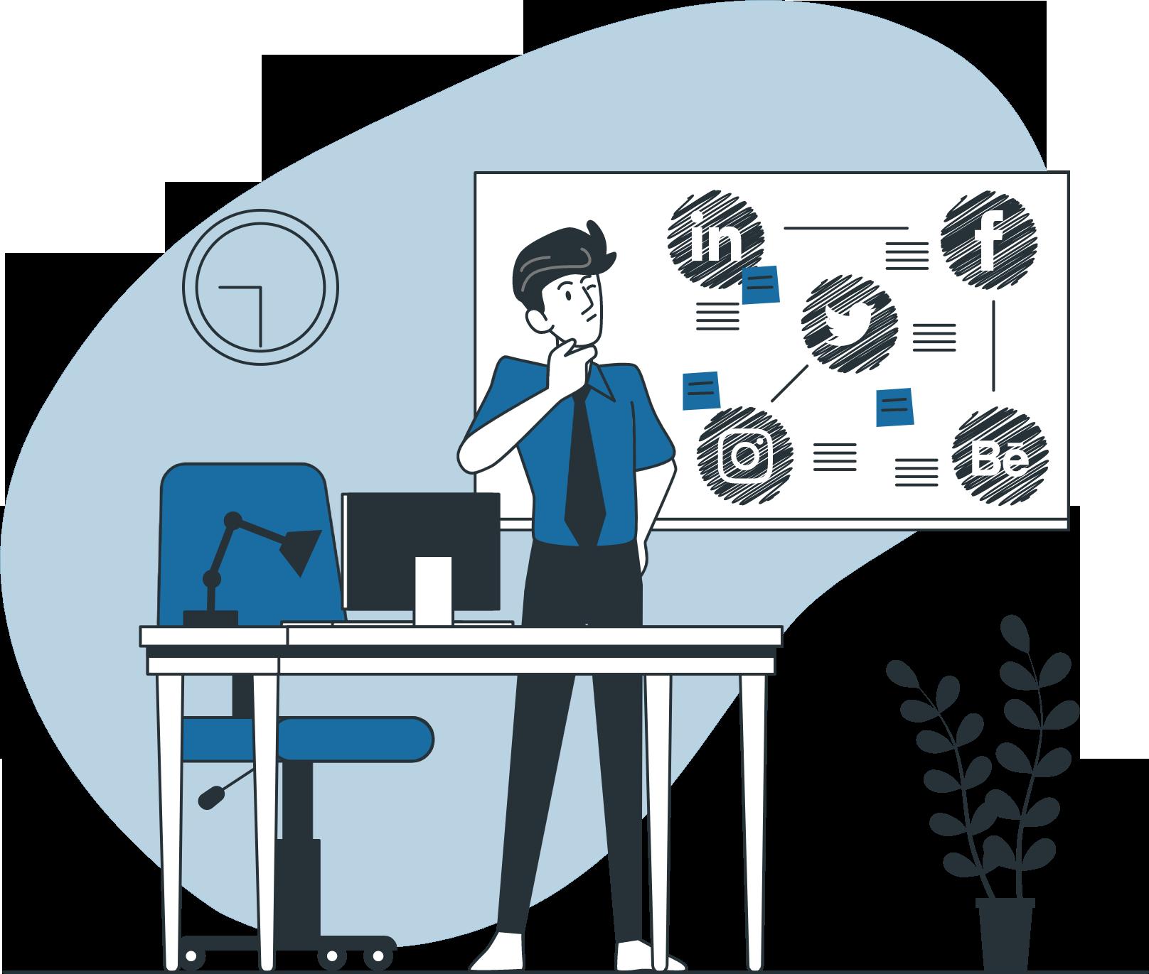 Allier content marketing et social media marketing