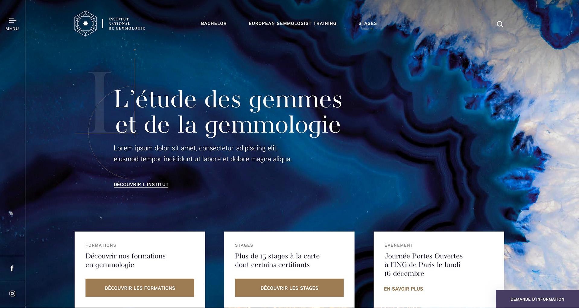 Site Internet d'école